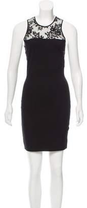 Mason Lace-Paneled Mini Dress