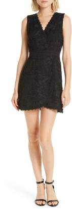 Alice + Olivia Lennon Lace Mini Dress