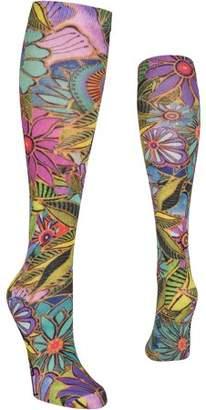 Laurèl Burch Knee High Socks - All Over Floral