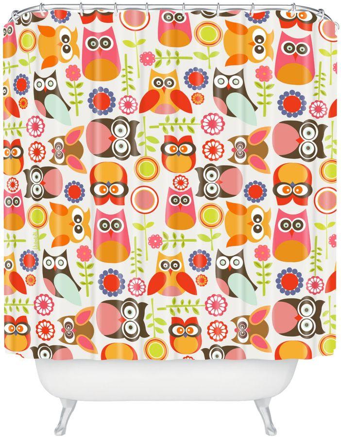 Bed Bath & BeyondValentina Ramos Cute Little Owls Shower Curtain