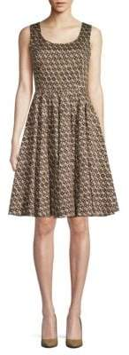 Dolce & Gabbana Graphic Cotton Fit-&-Flare Dress