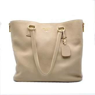 Prada Beige Leather Handbag