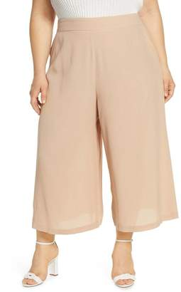 Leith Easy Cropped Pants (Plus Size)
