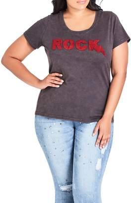 City Chic Rock Tee