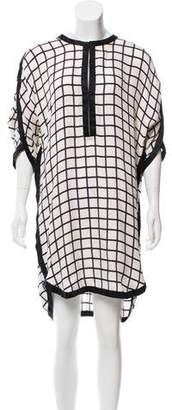 Etoile Isabel Marant Printed Silk Dress