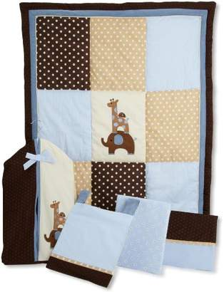 Lambs & Ivy Luxury Jake Bedding Set (Pack of 5 Pieces)