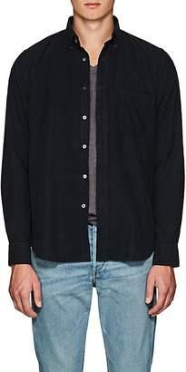 Hartford Men's Cotton Corduroy Button-Down Shirt