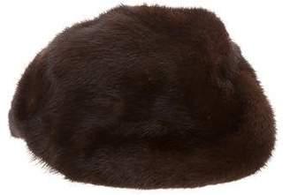 Brown Mink Hat