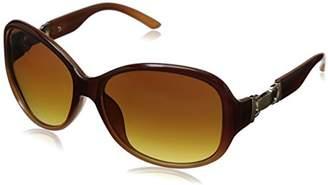 Adrienne Vittadini Women's AV1015 Round Sunglasses