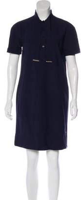 Fendi Short Sleeve Knee-Length Dress