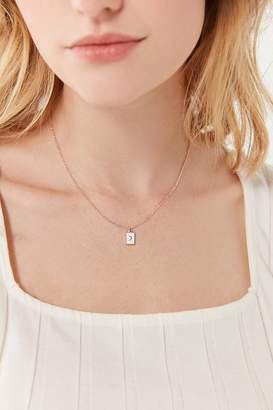 Urban Outfitters Riley Enamel Tag Necklace
