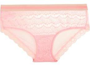Mimi Holliday Bisou Lace And Tulle Briefs