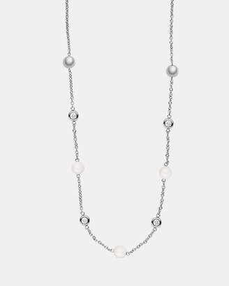 Skagen Sea Glass Silver-Tone Necklace