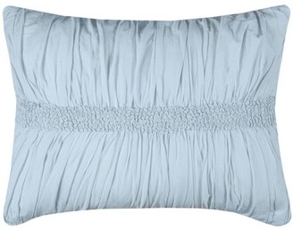 "Rizzy Home Kassedy Spa Blue Bedding Sham 20"" x 36"""
