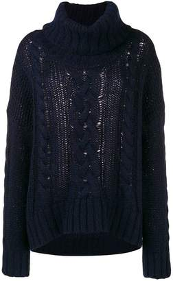 Woolrich oversized knit jumper