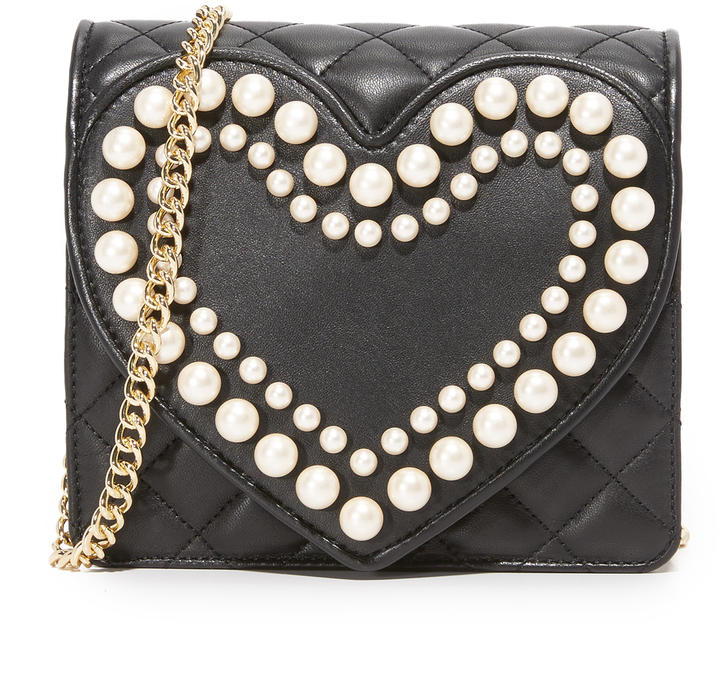 Moschino Boutique Moschino Quilted Cross Body Bag
