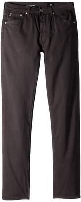 AG Adriano Goldschmied Kids The Kingston Luxe Slim Skinny Sueded Twill in Raw Grey Boy's Jeans