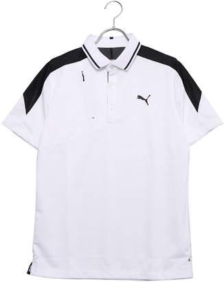 8fd14dfbd5caf Puma (プーマ) - プーマ PUMA メンズ ゴルフ 半袖シャツ ゴルフ ジップポケット SS ポロシャツ