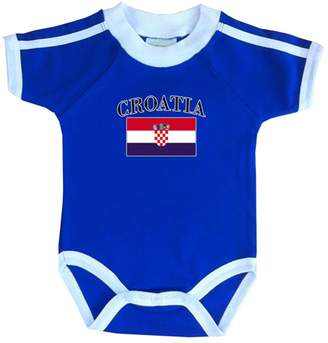PAM GM Croatia soccer Bodysuit with white piping