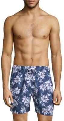Slate & Stone Wild Floral-Print Swim Shorts