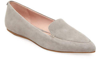 8d6eecaeb203 Grey Suede Loafers Womens - ShopStyle