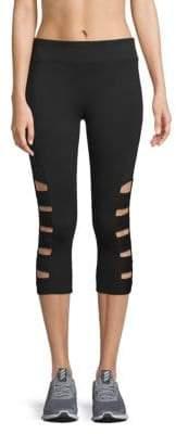 Cutout Cropped Leggings