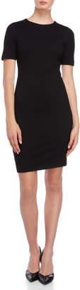 T Tahari Short Sleeve Sheath Dress