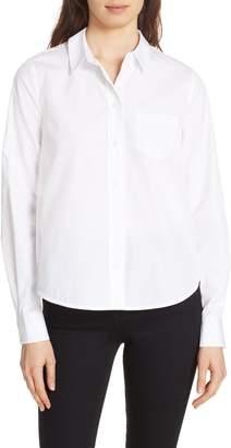 Diane von Furstenberg Lace Back Shirt