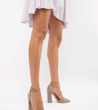 Asos Design DESIGN Pebble pointed high heels