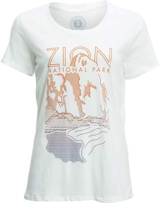 Zion Parks Project Cliff T-Shirt - Women's