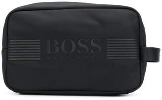 HUGO BOSS logo wash bag