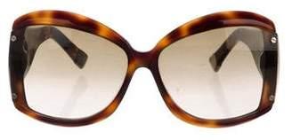 Balenciaga Oversize Gradient Sunglasses