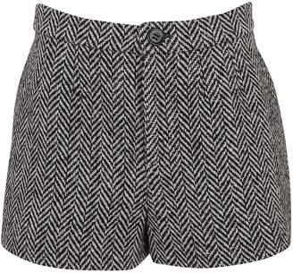 RED Valentino Herringbone Shorts