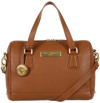 Dahlia Pure Luxuries London - Tan 'Dahlia' Fine Leather Bag - Deluxe Collection