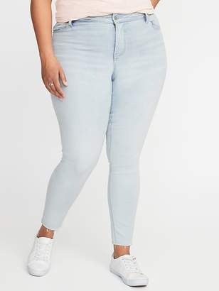 70f9a5db43f1 Old Navy High-Rise Secret-Slim Pockets Plus-Size Rockstar Jeans