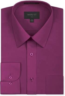 Ward St Men's Regular Fit Dress Shirts, XL, 17-17.5N 34/35S