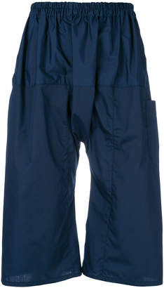 Raf Simons drop-crotch shorts