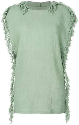 Caravana Kii hooded knitted top