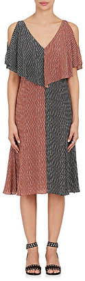 Derek Lam Women's Geometric-Print Silk Dress $1,495 thestylecure.com