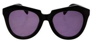 Karen Walker Oversize Tinted Sunglasses