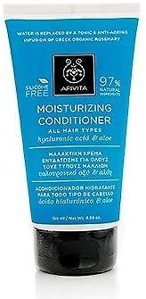 Apivita NEW Moisturizing Conditioner with Hyaluronic Acid & Aloe (For All Hair