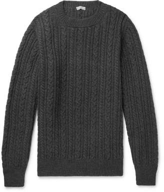 Margaret Howell Cable-Knit Wool Sweater