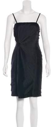 Calvin Klein Sleeveless Pleated Dress