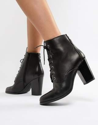 d5cedba5d6e Aldo Ibauvia Leather Heel Lace Up Boots