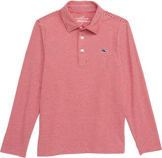 Vineyard Vines Stripe Edgartown Performance Polo