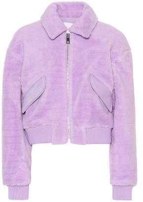 Tibi Gus faux shearling jacket