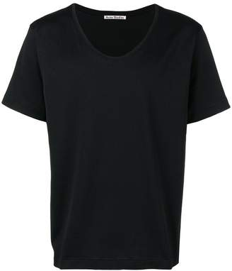 Acne Studios News scoop neck T-shirt
