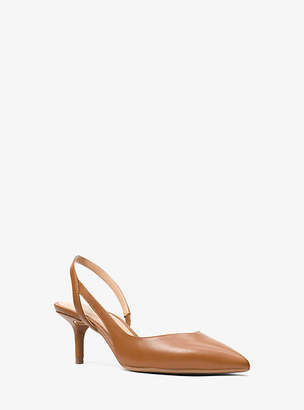 Michael Kors Eliza Flex Leather Pump
