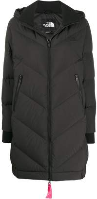 The North Face hooded padded coat