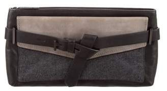Reed Krakoff Leather Boxer Clutch